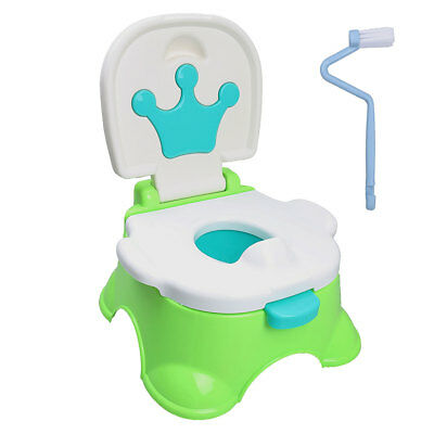 3 in 1 Baby Toddler Toilet Trainer Safety Potty Training Seat Fun Christmas Gift