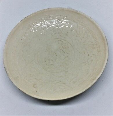 Rare Chinese Antique Ding Yao Kiln Porcelain Bowl Song Dynasty