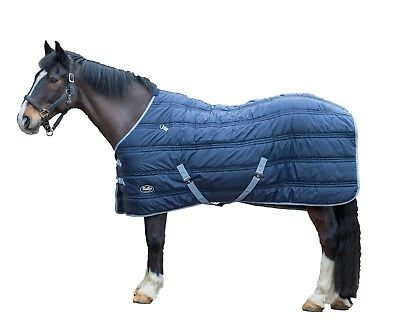 Gallop Defender Indoor Stable Quilted Horse Rug Heavy Weight Warm Cosy 300g Fill