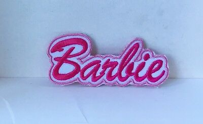 Barbie Doll Logo Character Embroidered Appliqué Patch Sew Or Iron On #45