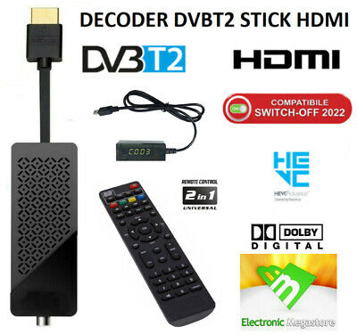 Decoder Combo Satellitare, Terrestre Full Hd Pvr Usb Digiquest Bware Combo