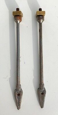 2 Longcase Bell Stands