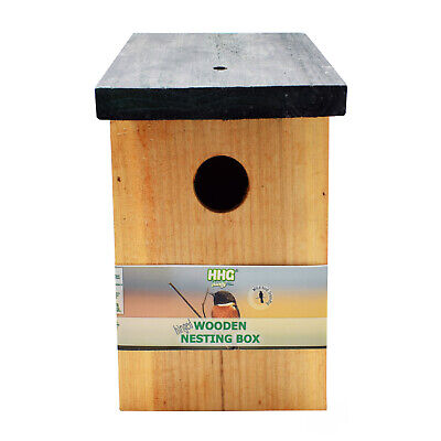 Fully Pre-Treated BIRD NEST BOX - Super Quality - Made To Last - Hinged Lid