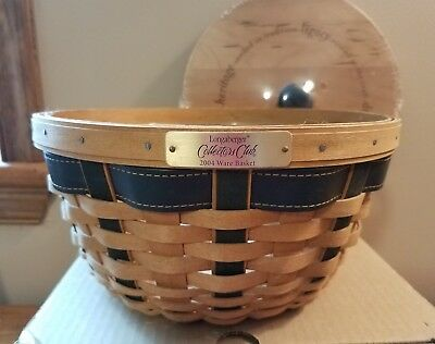 Longaberger 2004 Collector's Club Ware Basket