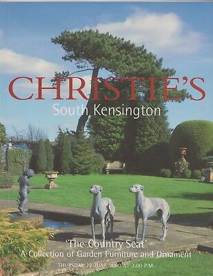'the Country Seat' Garden Statuary, Furniture & Ornament Auction Catalogue