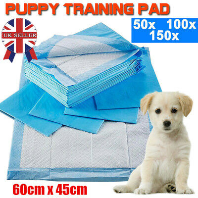 50-200pc Puppy Pads Dog Pet Toilet House Training 60x45cm Wee Potty Pee Mats Cat