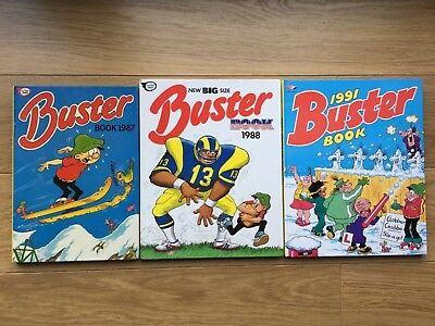 Buster Book 1987, 1988, 1991