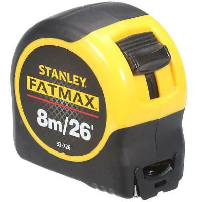 Stanley 0-33-726 FatMax Tape Measure 8m 26ft Blade Armor Technology