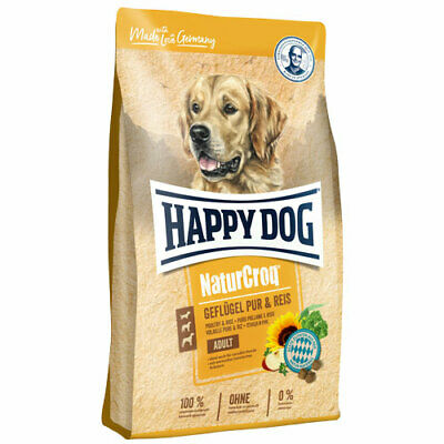 15 kg Happy Dog NaturCroq Adult Geflügel Pur & Reis