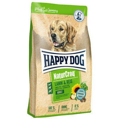 15 kg Happy Dog NaturCroq Adult Lamm & Reis