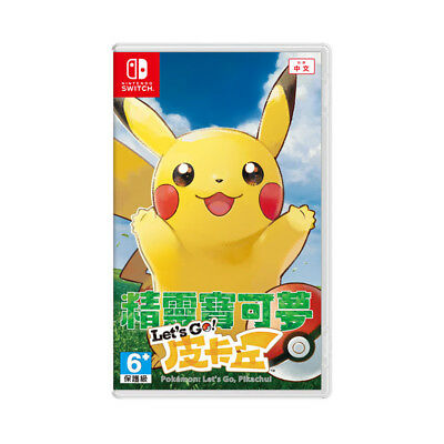 Pokemon Let's Go Pikachu Eevee Nintendo Switch Chinese English Pre-Owned