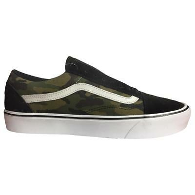 Mens VANS OLD SCHOOL LITE MLX Camouflage Trainers VN0A2Z5WPXD