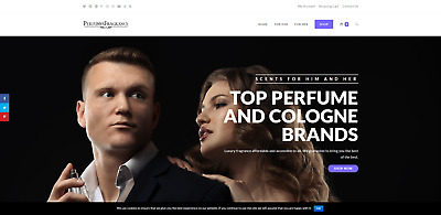 PREMIUM Perfume / Fragrance Website Store - 9k+ Products, Dropship - US Supplier