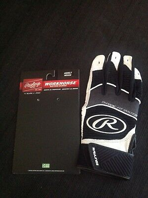 Rawlings Workhorse 950 Series Adult Batting Gloves Medium New Right Hand only