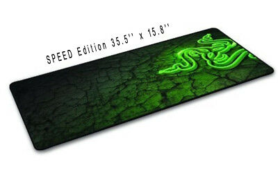 Large Size 3D Speed Edition Razer Goliathus Gaming Mouse Soft Mat Pad 900x400MM