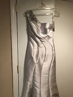 NWT Womens Long Formal Designer Dress Wedding Prom Mother's Holidays Cruise