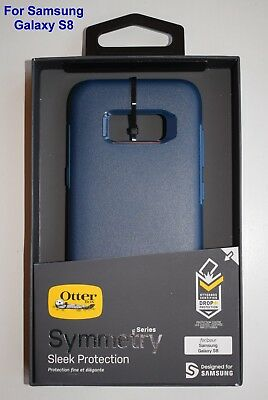 OtterBox Symmetry Sleek Protection Case Cover for Samsung Galaxy S8 Way Blue