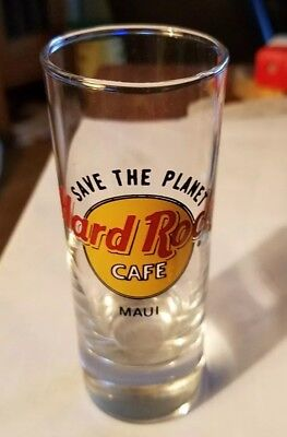 Hard Rock Cafe Maui Hawaii Double Shotglass