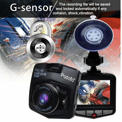 "GT300 2.4"" Full HD 1080P Car DVR Vehicle Camera Video Recorder Dash Cam G-"