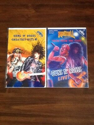 Guns n' Roses Greatest Hits #1 Comic and Rock & Roll Comics #43 VF/NM.