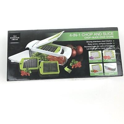 Sharper Image 4 In 1 Chop Slice Dice Store New 2600 Picclick