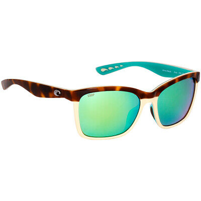 24f77d284b Costa Anaa Plastic Frame Green Mirror Lens Ladies Sunglasses ANA105OGMP