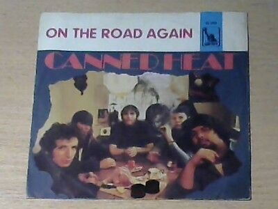 """7"""" CANNED HEAT * On The Road Again (BLUES ROCK ORIGINAL `68)"""
