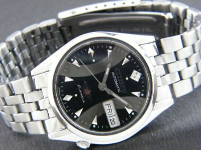 b416e2699649 GENUINE VINTAGE 34mm CITIZEN AUTOMATIC 8200A JAPAN DAY DATE WATCH - GIFT    BOX