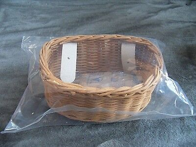 NIP American Girl Samantha BASKET with Flowers for 3 Wheeled Bicycle Retired