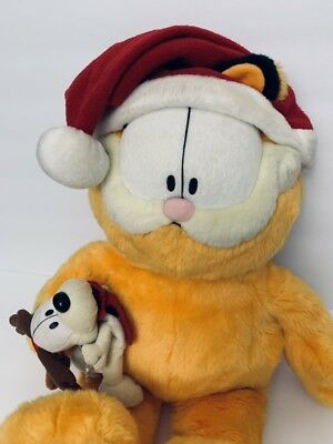 4a821a2721c7c MACY'S LIMITED 25 Years Edition Plush Garfield w/ Odie 25th- FREE ...