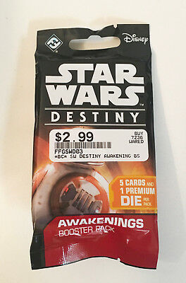 Star Wars Destiny Dice and Card Game Awakenings Booster Pack FFGSWD03