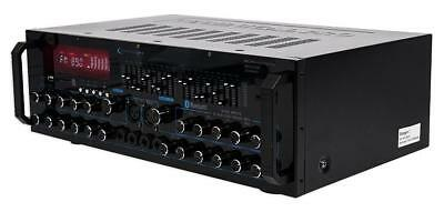 Technical Pro MM2000BT Mic Mixing Amplifier 2000 Watts With Bluetooth/USB/SD