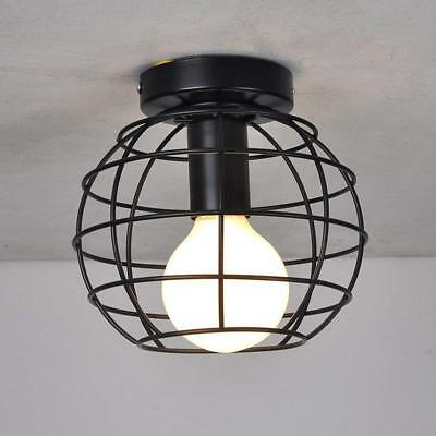 Industrial Ceiling Lights Indoor Flush Mount Ceiling lamp Vintage Style Circular