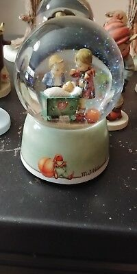 Authentic Hummel  Musical Snow Globe Of Blessed Event Working No Box
