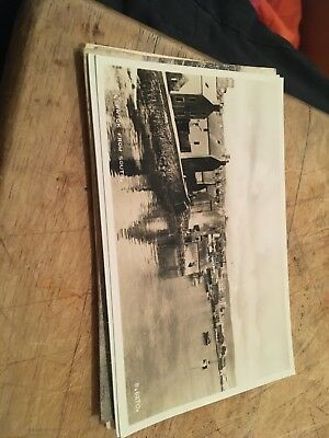 Real Photo Postcard Lerwick From The South Valentines