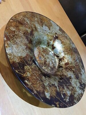Large silver plated bowl