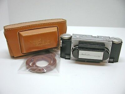 Realist David White Stereo 35Mm Camera..f2.8 Lenses..custom Model..case..rare