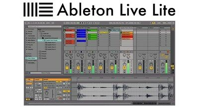 Ableton Live 10 Lite - Genuine License for Mac/Windows with Same Day Delivery