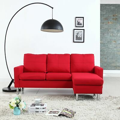 Groovy Contemporary Leather Sectional Sofa 3 Seater L Shaped Living Bralicious Painted Fabric Chair Ideas Braliciousco