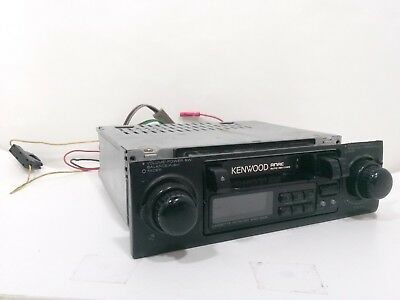 kenwood krc 408 am fm radio cassette car stereo head unit faceplate kenwood cd player wiring-diagram kenwood krc 1005 in dash cassette am fm used vintage untested for parts