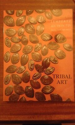 African and Oceanic art book auction catalogue Lempertz 1995 Brussels