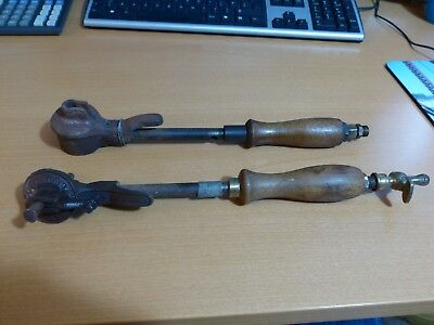 Gas Copper Soldering Irons Stain Glass Leaded Windows Old Vintage Antique