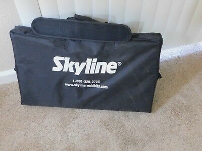 Skyline Literature Stand-Collapsible/Carry-on Case
