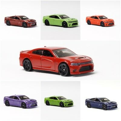 Dodge Charger SRT Hellcat FACTORY COLORS 1:64 Diecast Model HandMade Display car
