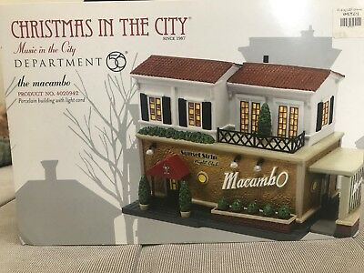 Department 56 Christmas In The City - The Macambo (Retired) #4020942