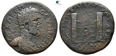 Savoca Coins Thrace Anchialos Septimius Severus Gate 12,13 g / 26 mm @SUI8648