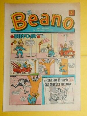 Beano Comic  # 1330 ,  Billy The Cat  13Th January  1968 .