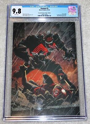 Venom 3 Cgc 9.8 Ryan Stegman Excl Virgin Variant First Appearance Of Knull 1000