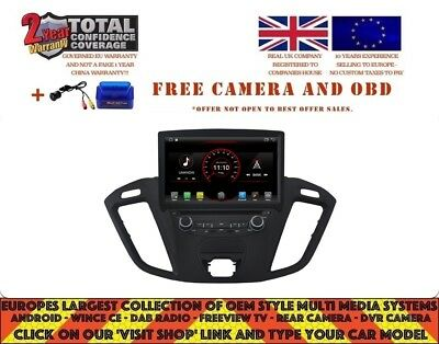 Dvd Gps Wifi Bt Android 8.1 Dab+ Carplay Ford Tourneo Transit Connect K6456
