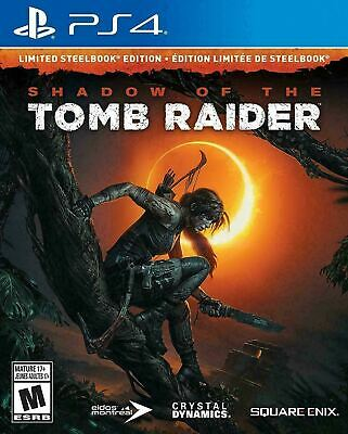 Shadow of the Tomb Raider - Steelbook Edition [PS4] New!!